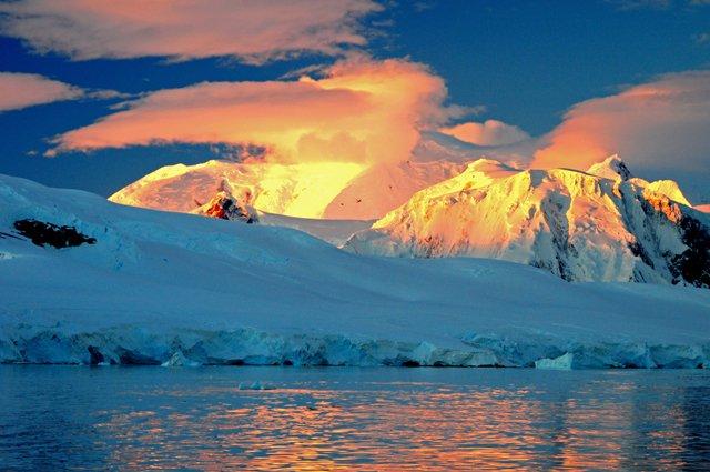 Antártica: calor recorde!, imagem da antártica