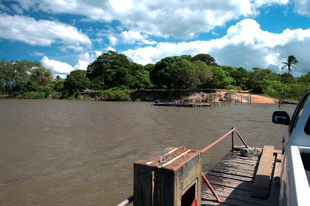 a-balsa-Barra Velha canavieiras