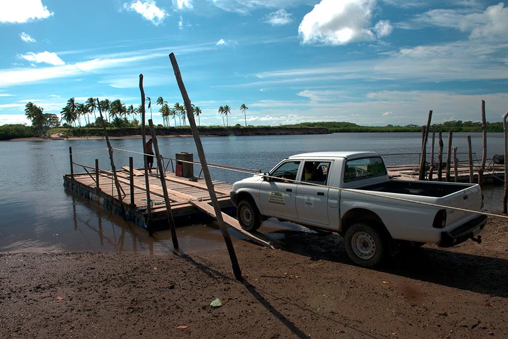 a-balsa de Barra Velha, canavieiras