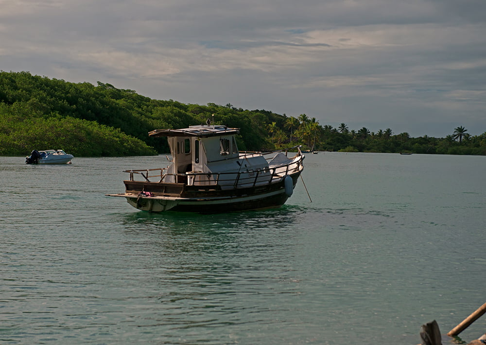 Resex Corumbau, imagem do rio Caraíva