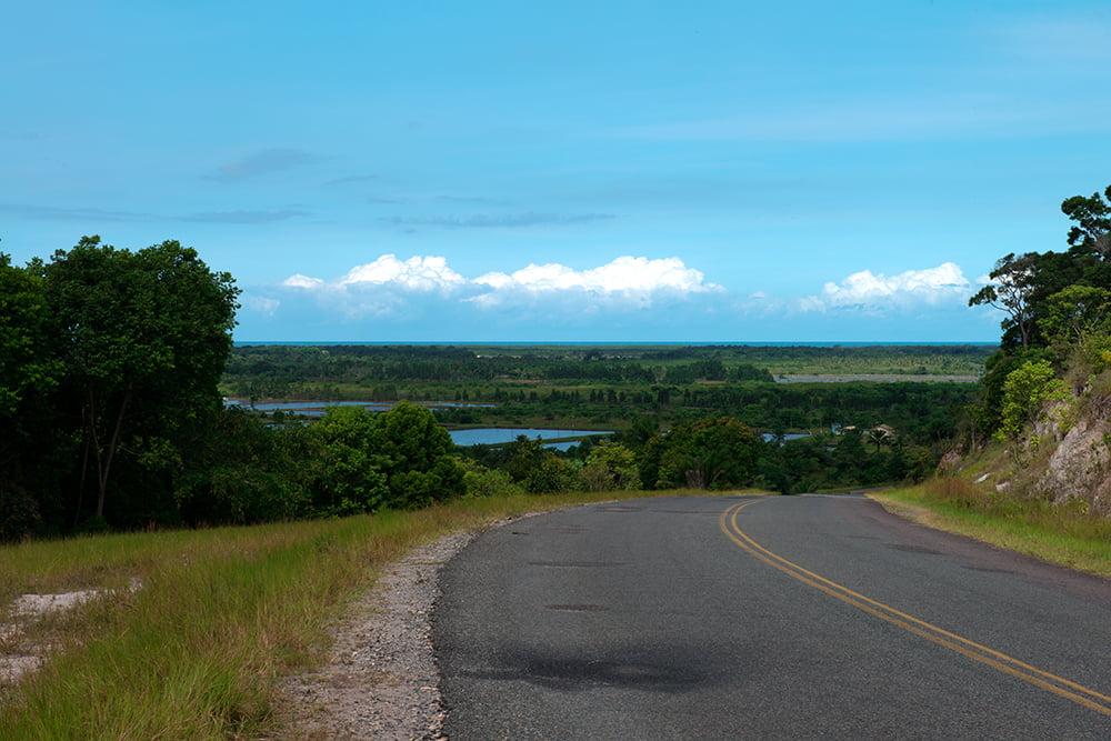 Resex de Canavieiras, imagem do-panorama-da-carcinicultura