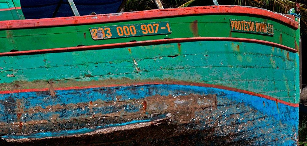 Resex Corumbau, imagem da proa-de-barco