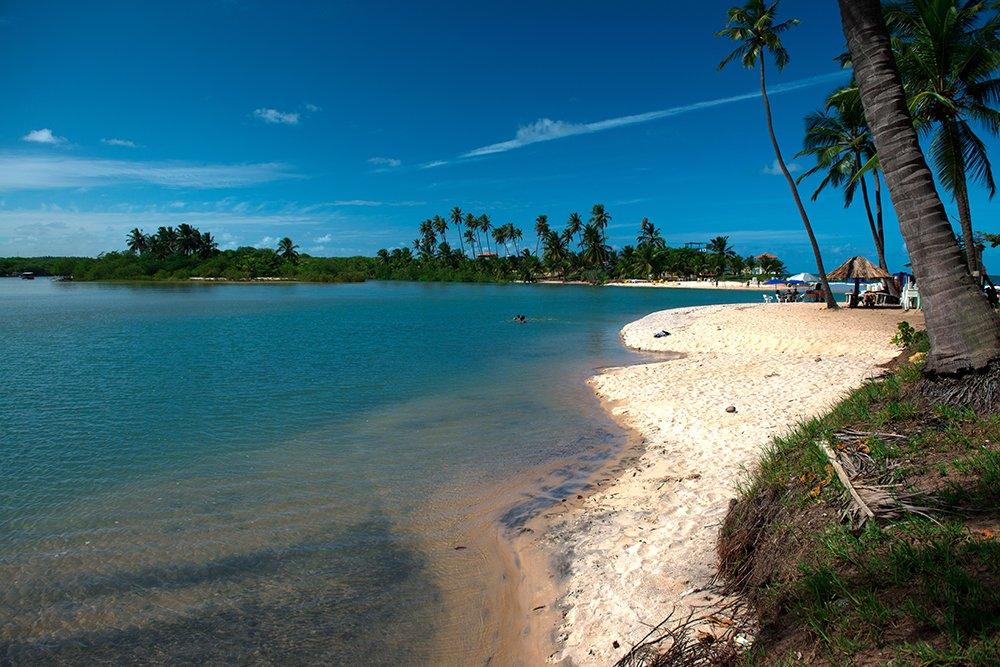 Resex Lagoa do Jequiá, imagem da praia da barra
