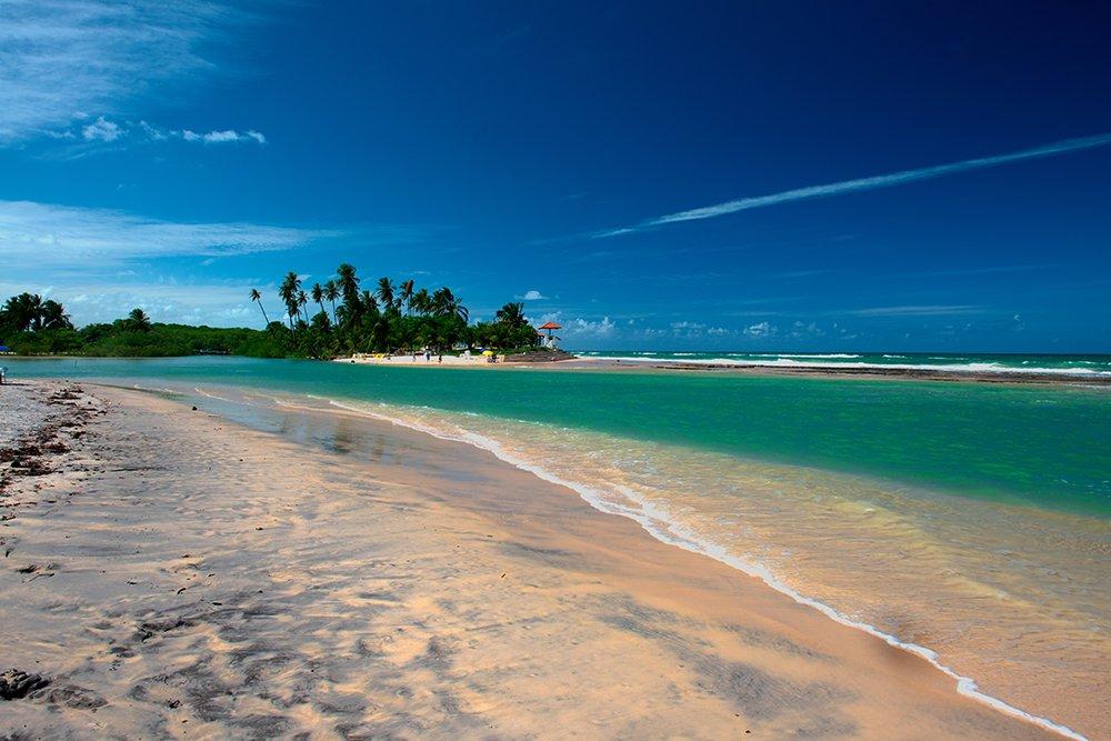 Resex Lagoa do Jequiá, imagem da-praia-barra-jequia