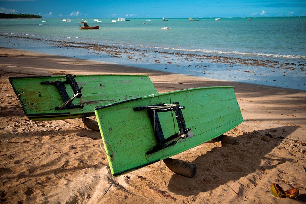APA Costa dos Corais, imagem da praia Japaratinga