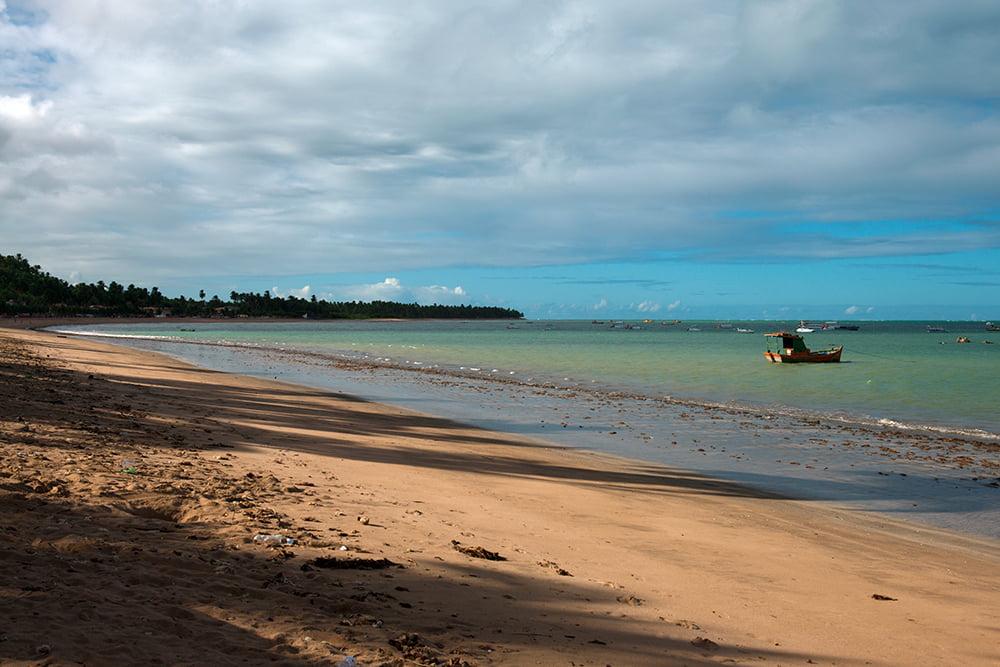 APA dos Corais, imagem da praia Japaratinga