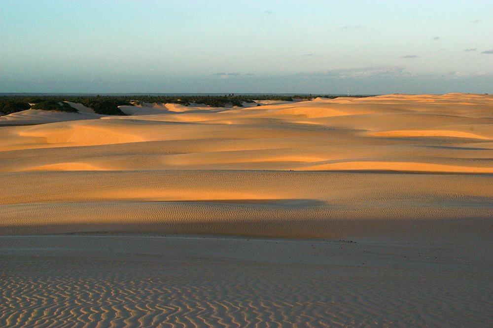 APA de Paiçabuçu, imagem das dunas do Peba