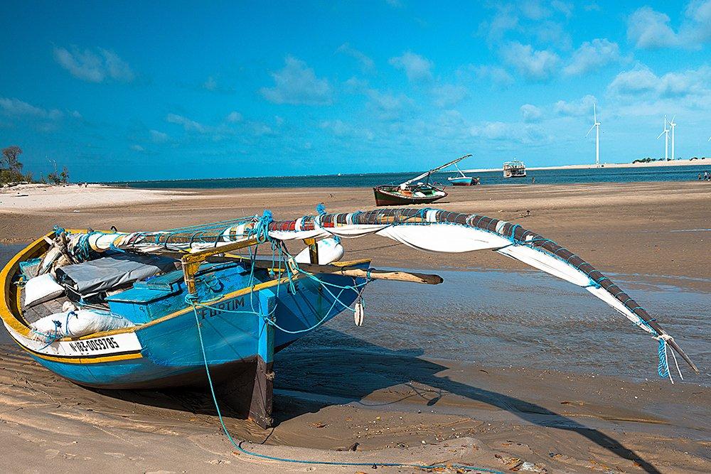 Resex Prainha do Canto Verde, imagem de um bote bastardo