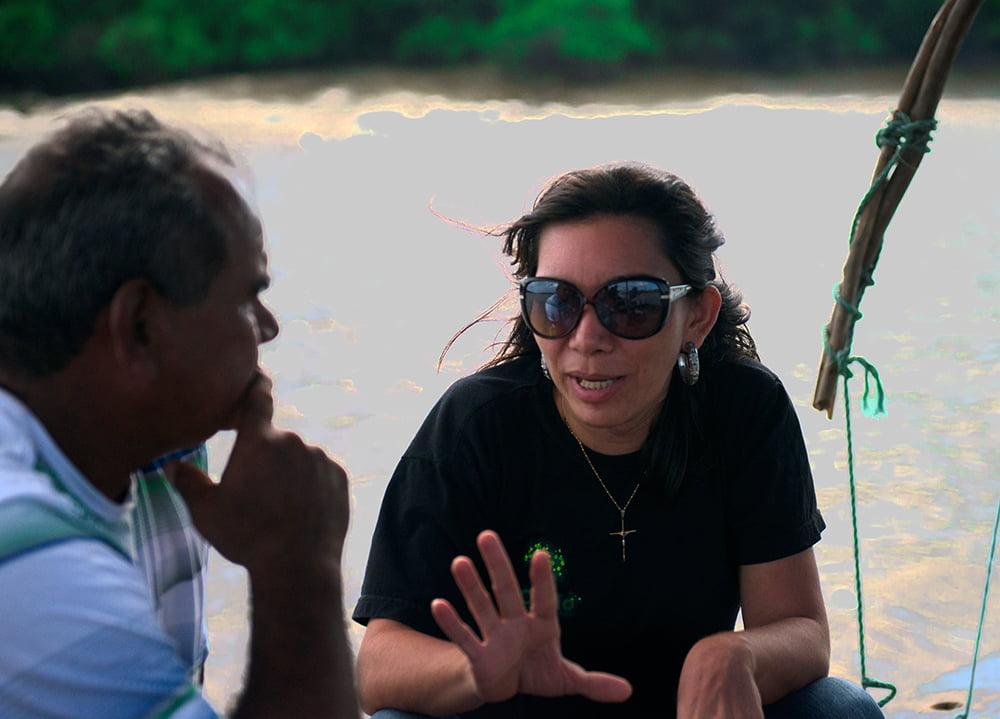 Resex Gurupi- Piriá, imagem da gestora da Resex Gurupi- Piriá