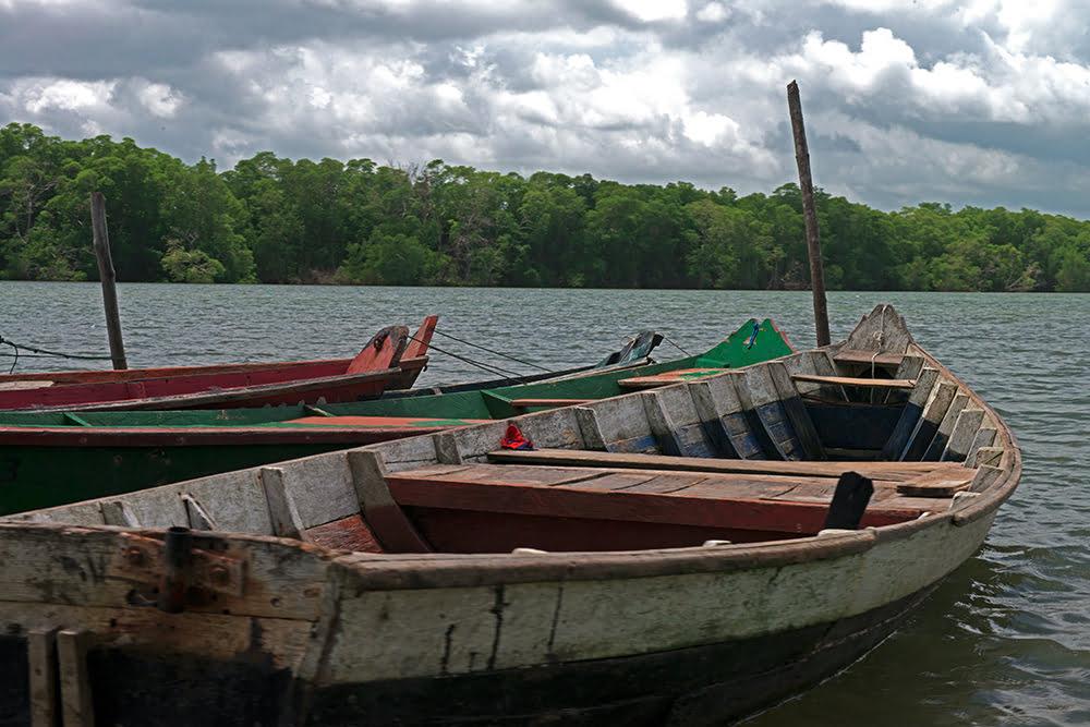 Resex Mãe Grande de Curuçá, imagem de barcos