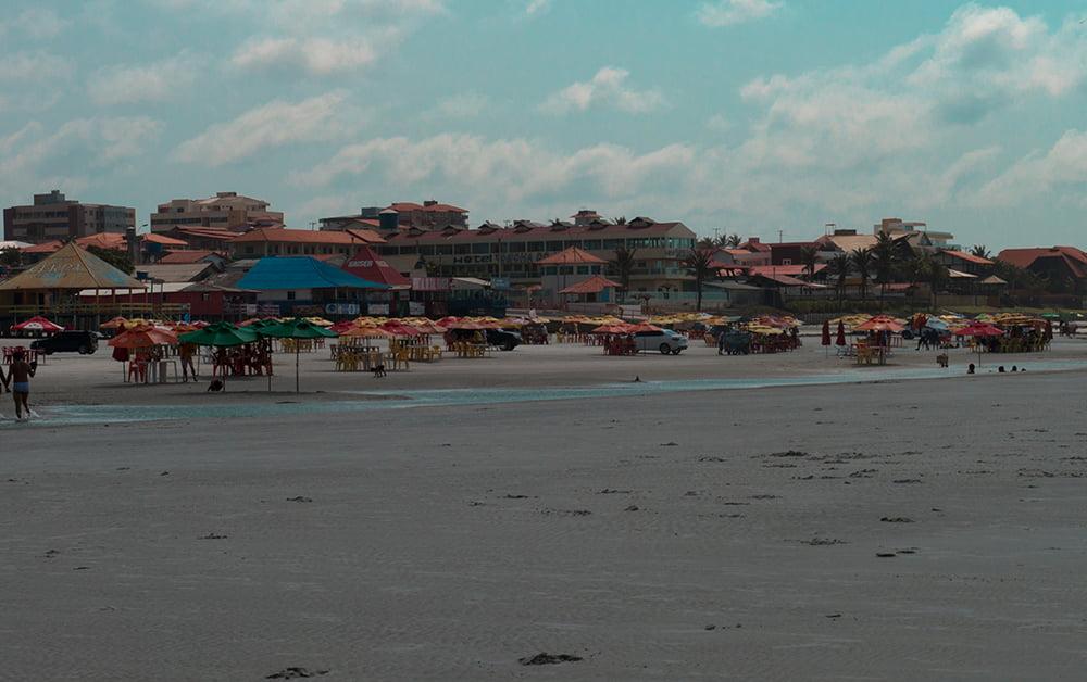 Resex Maracanã e Resex Chocoaré Mato Grosso, imagem de praia do Atalaia, Salinópolis