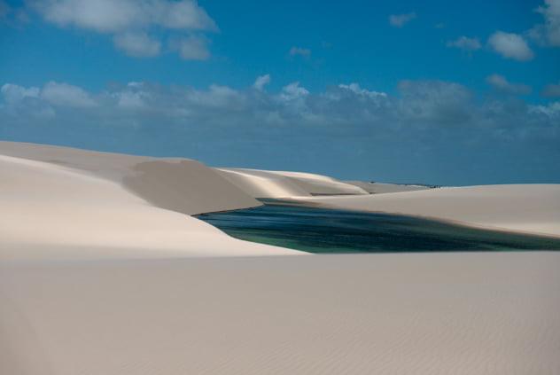 imagem de dunas no Parque Nacional dos Lençóis Maranhenses - Episódio 44
