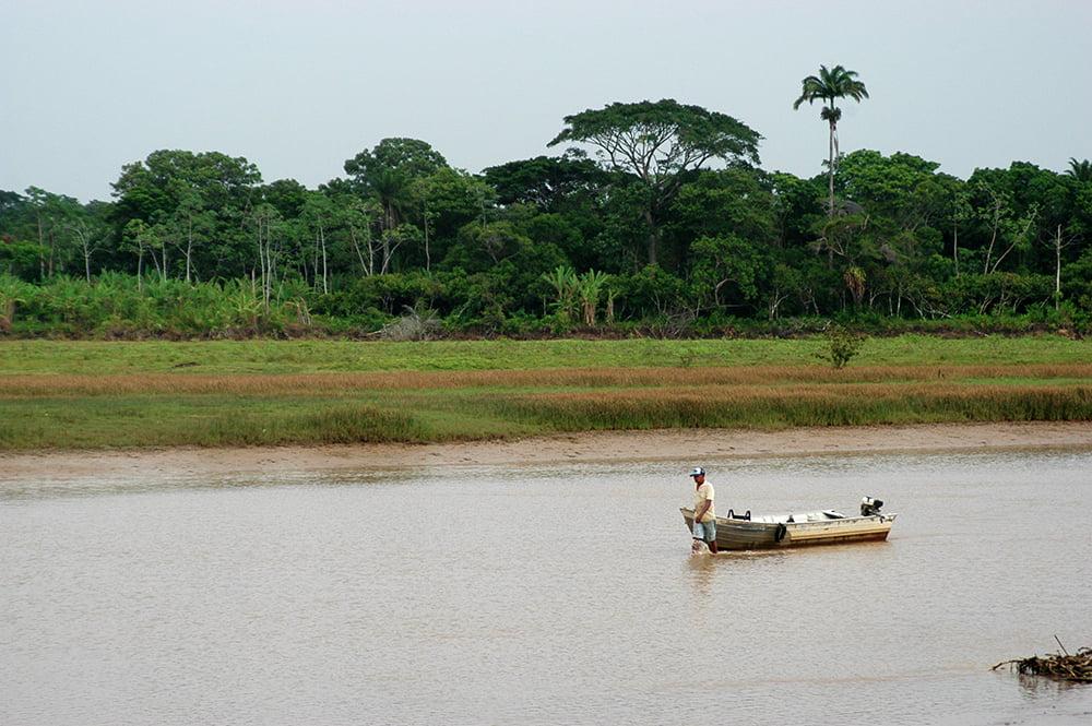 Colapso dos rios brasileiros, imagem do rio jequitinhonha
