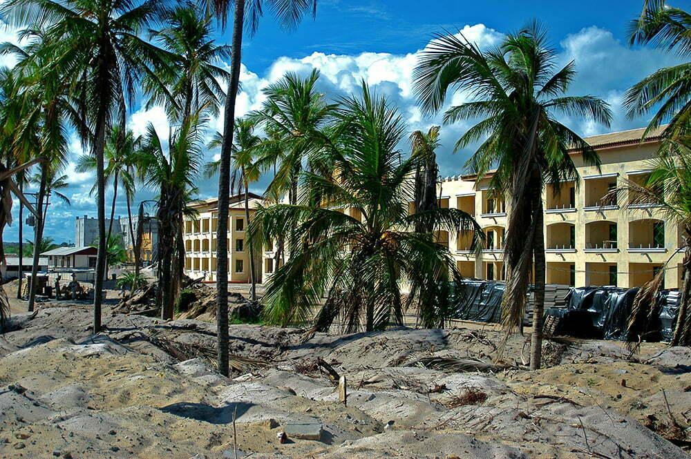 Eventos extremos, peso para a economia, imagem de resort no litoral da bahia