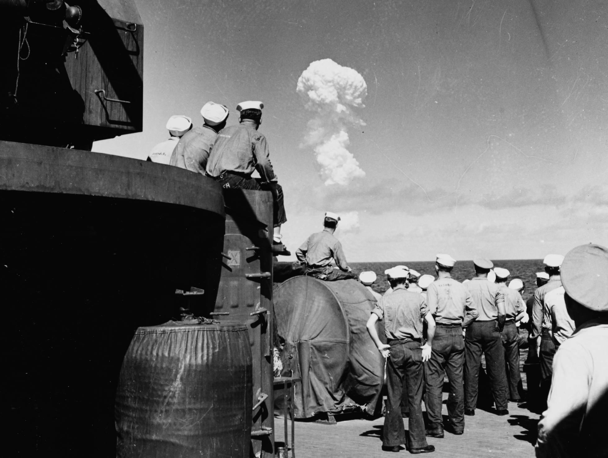 Encontrado naufrágio de bombas nucleares