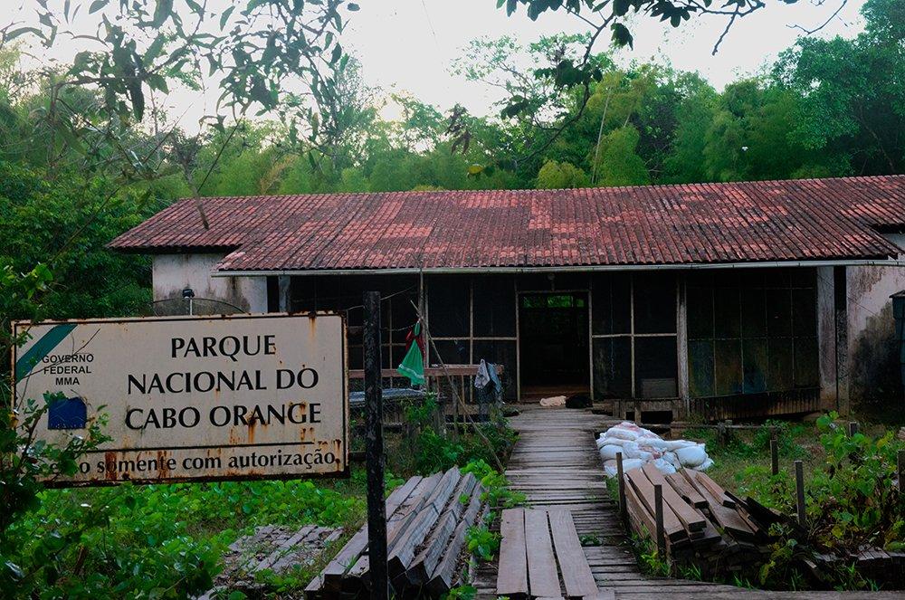 imagem da sede do Parque Nacional do Cabo Orange - episódio 53 da série de documentários