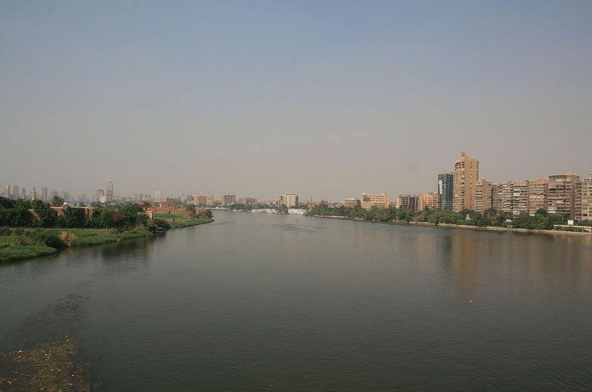 Lugares que podem ser tragados pelo mar, imagem do rio Nilo