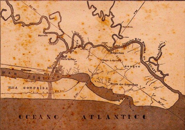 Canal do Valo Grande, algoz do Lagamar, mapa-Canal-do-Valo-Grande