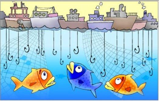 Subsídios à pesca no mundo: insustentáveis