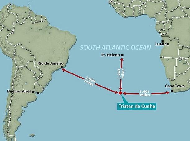 área marinha protegida, imagem de mapa mostrando nova área marinha protegida