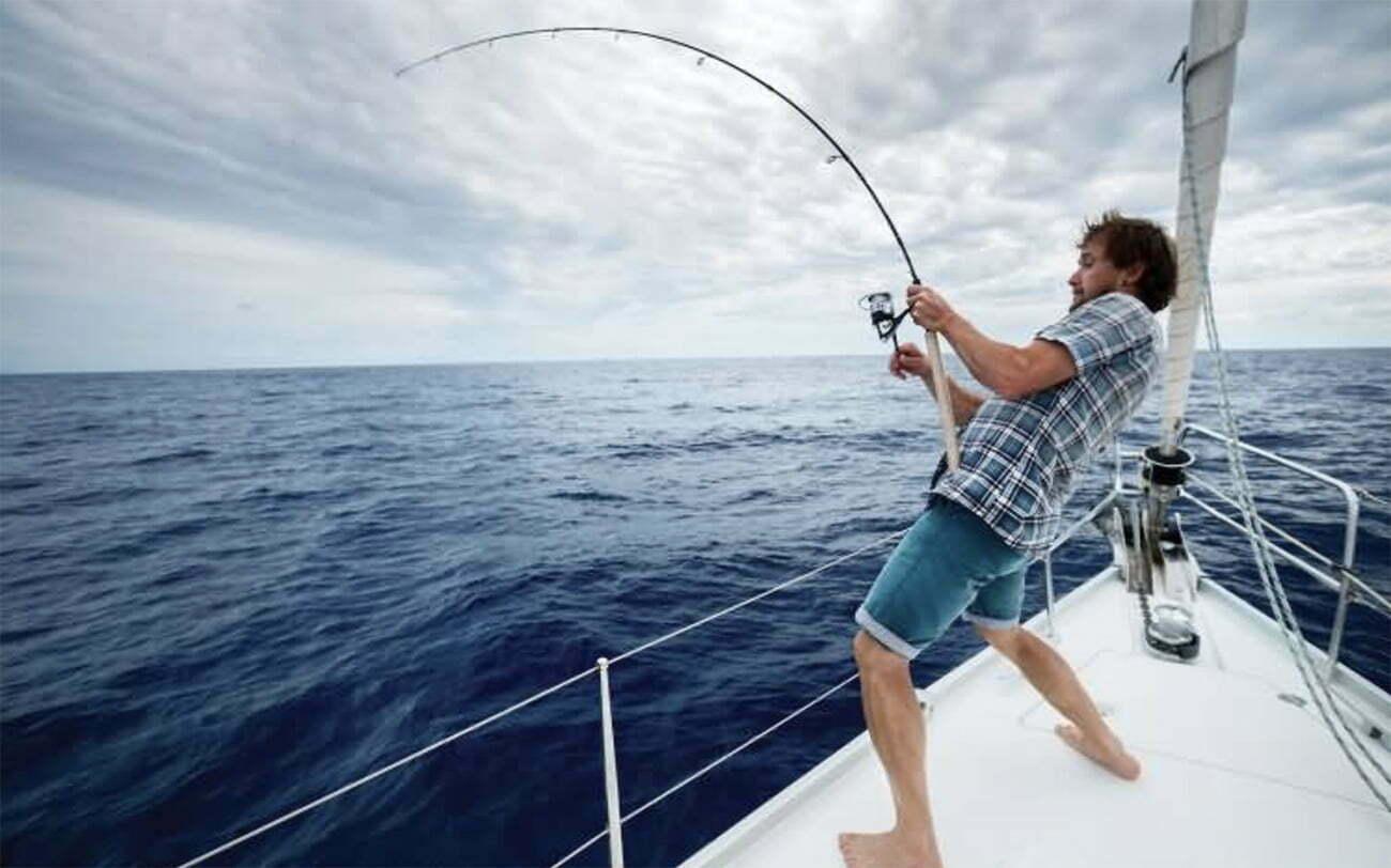 imagem de pesca esportiva