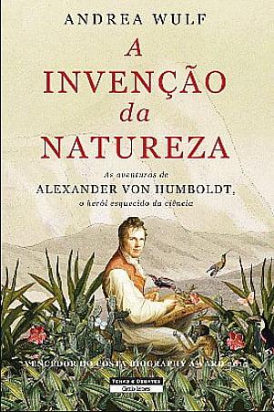 A invenção da Natureza, imagem da capa do livro A Invenção da natureza