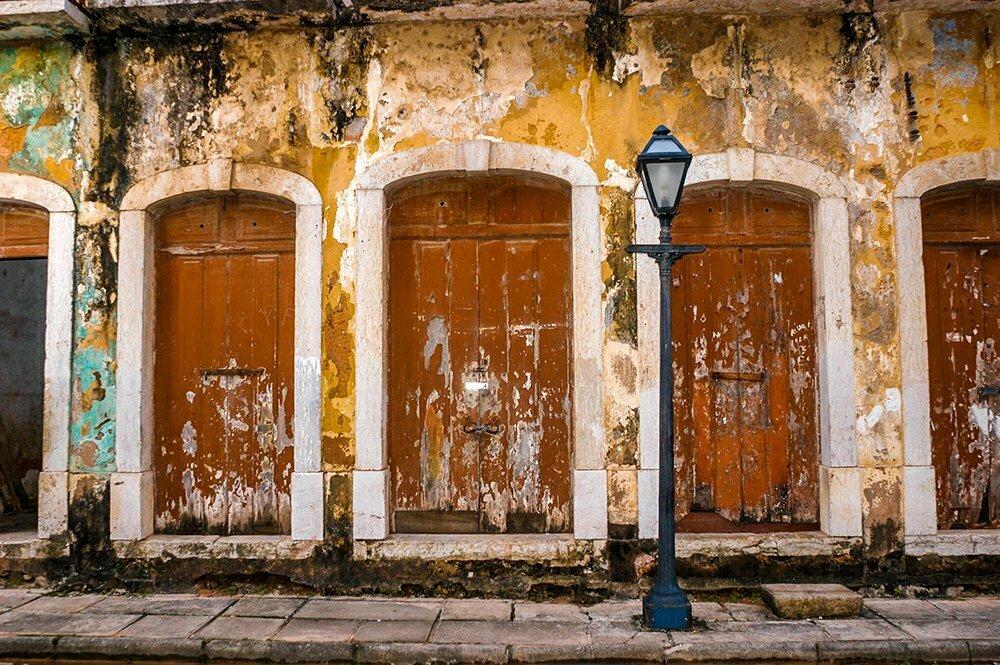 Iphan, casarao no centro antigo de São Luis