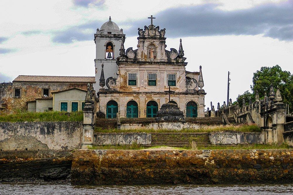 Iphan, imagem do convento nossa senhora do Paraguaçu, Bahia