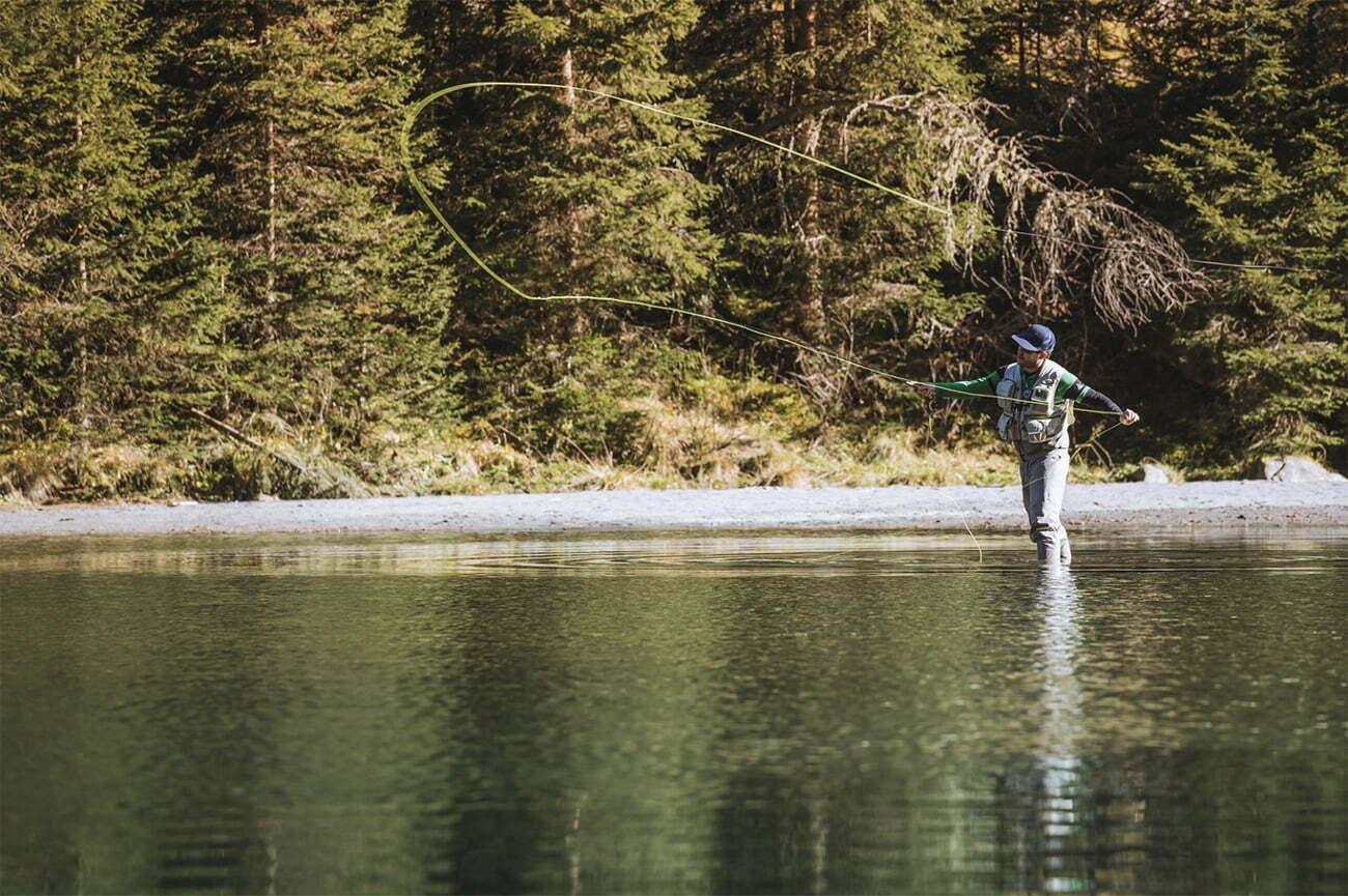 imagem de pescador de Fly