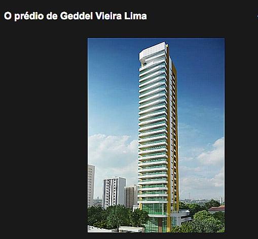Iphan, imagem do prédio onde quer morar o ministro geddel vieira lima