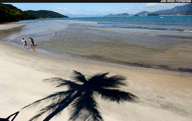 Ubatuba, imagem de praia em Ubatuba, SP