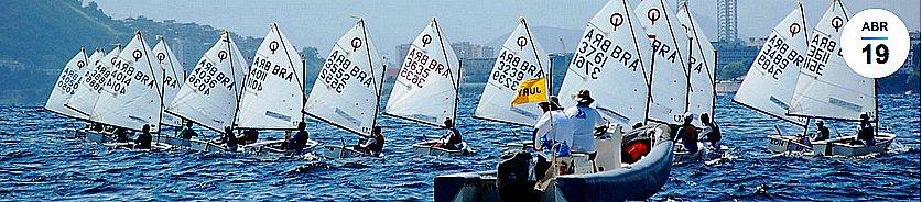 Campeonato de Optimist, imagem do Campeonato de Optimist do Rio