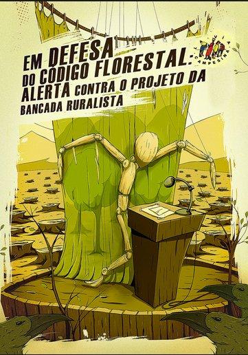 ruralistas, charge em defesa do código florestal