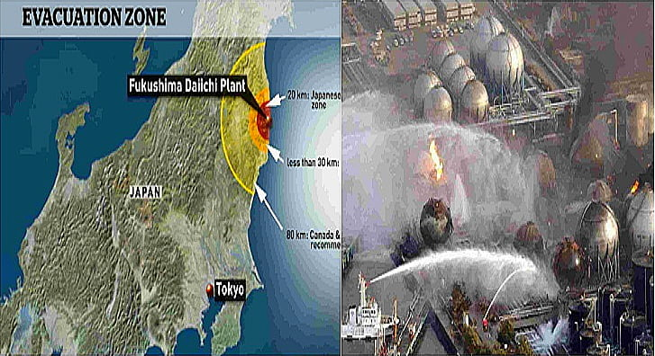 Desastre de Fukushima, imagem de Desastre de Fukushima