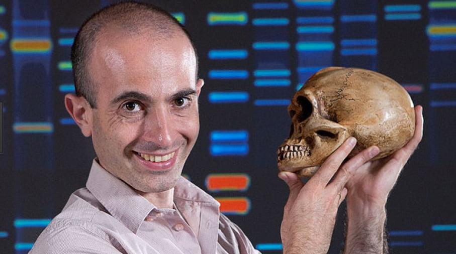 imagem do historiador Yuval Noah Harari autor de homo sapiens
