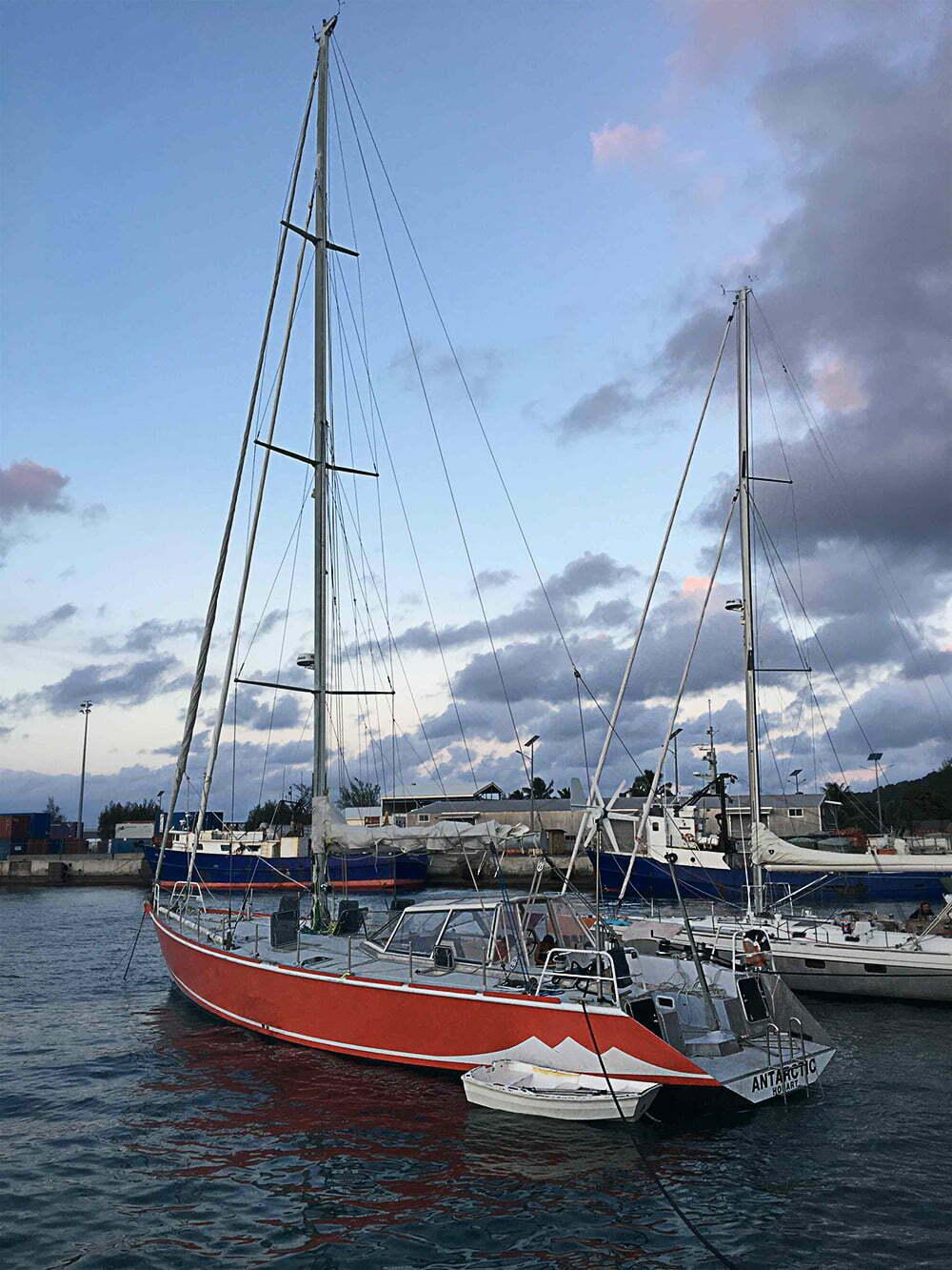 Viagem da Kika, diário de bordo Nº 7, imagem de veleiro
