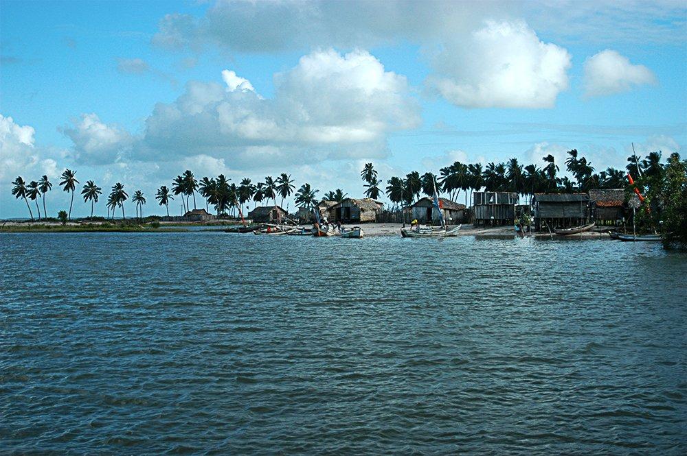 Litoral norte do Maranhão, imagem da vila de Porto Alegre