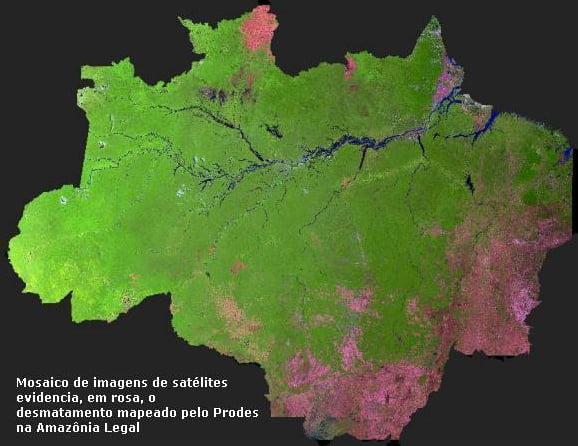 As medidas provisórias 756 e 758, ilustração da mapa da amazônia
