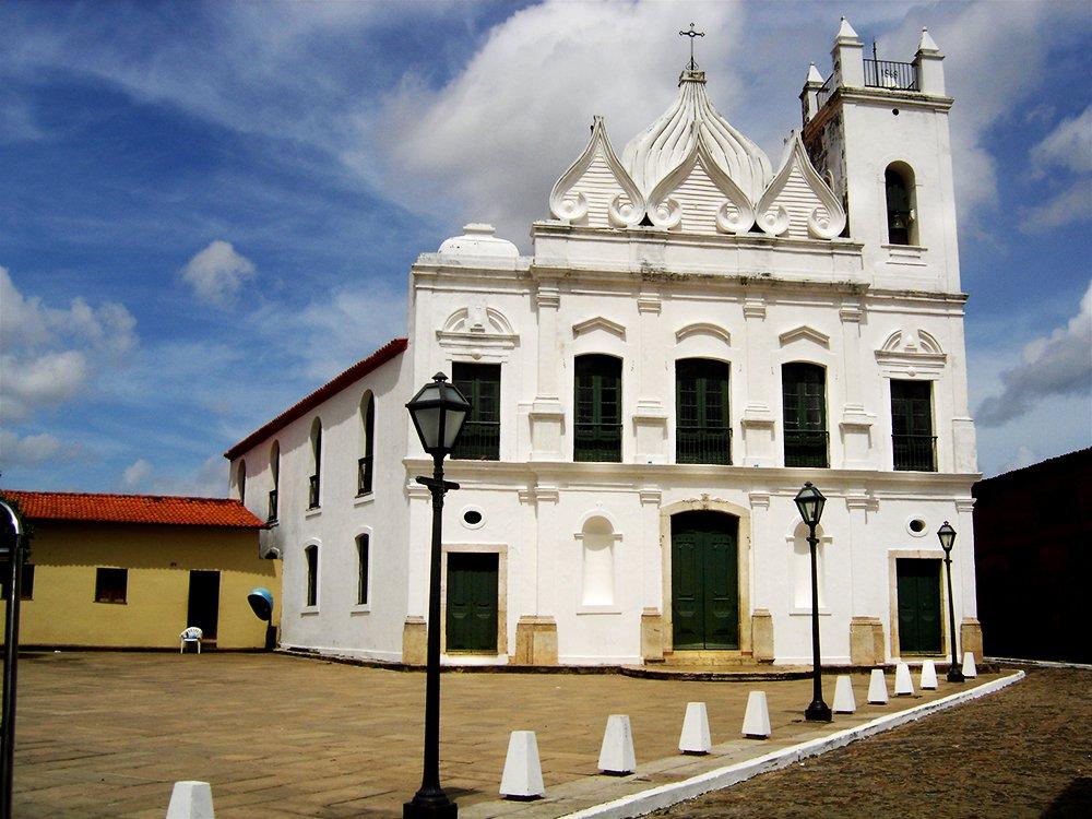Litoral Sul do Maranhão, imagem de igreja em são luis
