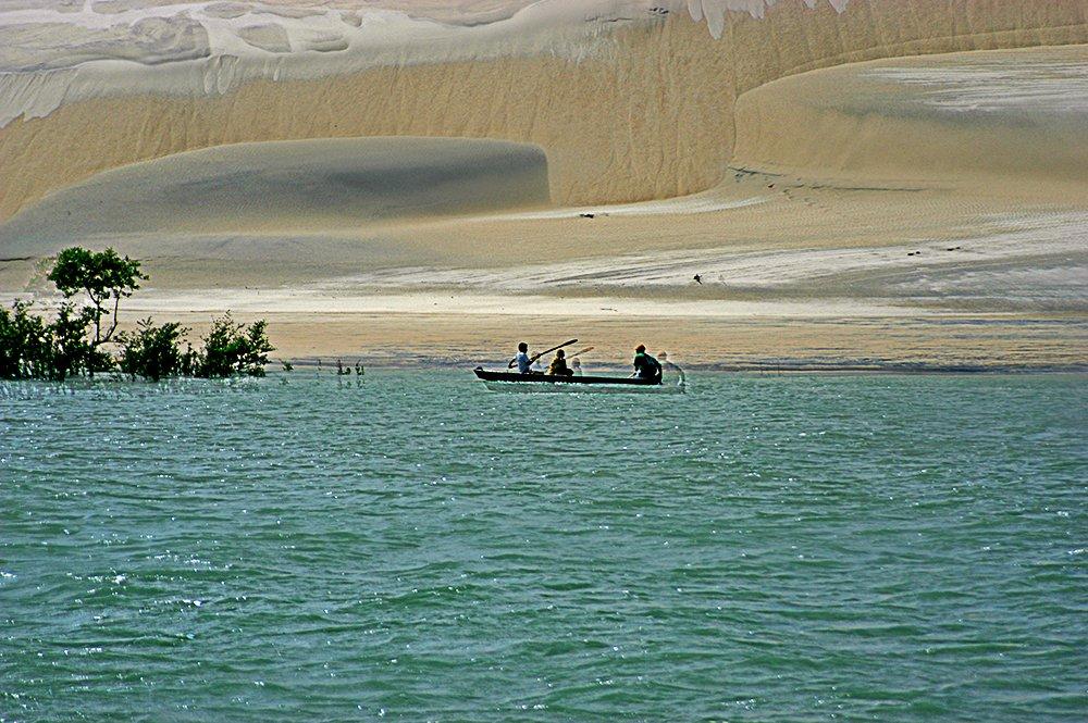 Litoral norte do Maranhão, imagem da ilha dos Lençóis