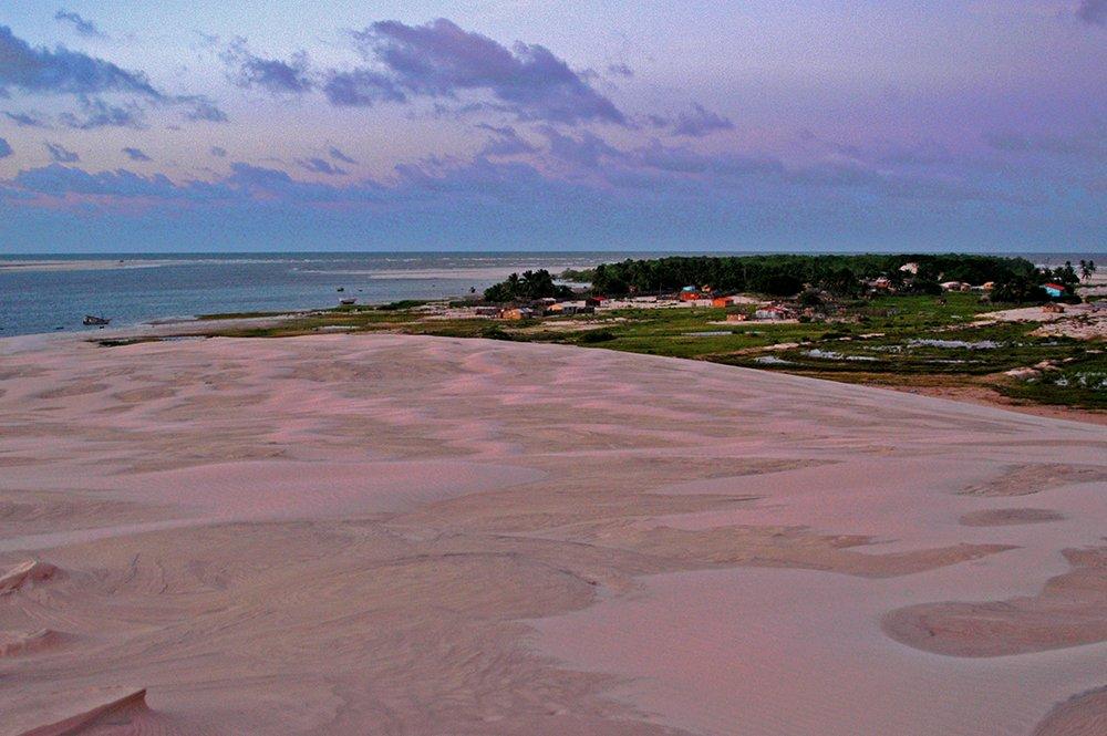 Litoral norte do Maranhão, imagem da ilha dos Lençóis, Maranhão