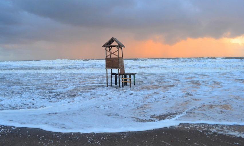 Argentina vai proteger seus mares, imagem do litoral argentino