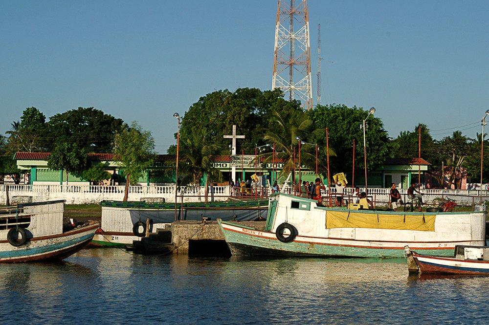 Litoral Sul do Maranhão, imagem de primeira cruz