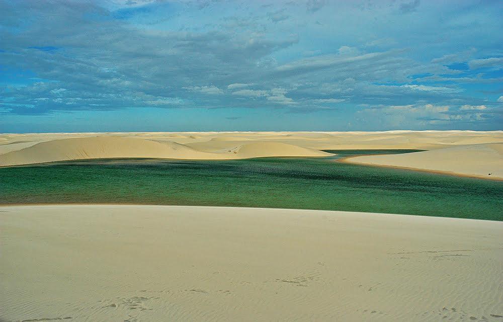 Litoral Sul do Maranhão, imagem dos lençóis maranhenses