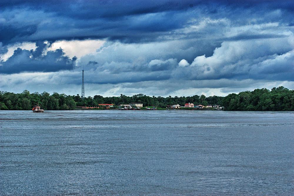 imagem do rio Caeté