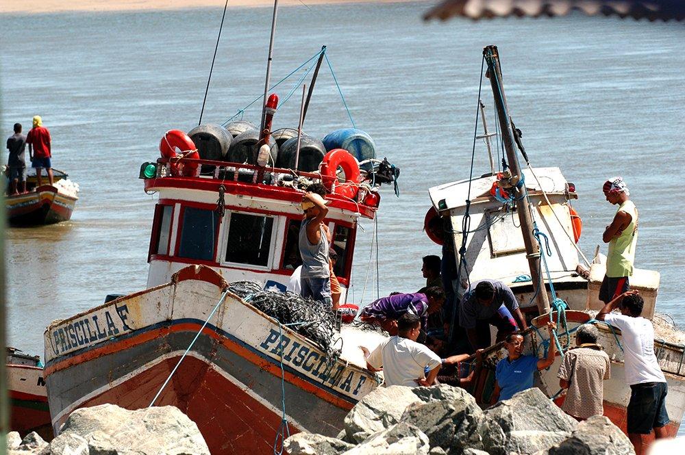 Litoral Sul do Maranhão, imagem de barcos de pesca