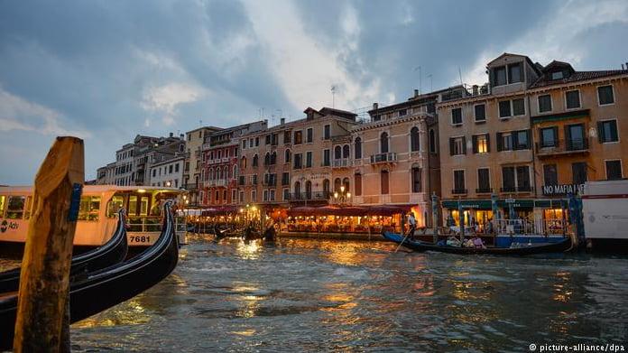 Aquecimento global ameaça Patrimônios Nacionais, imagem de Veneza
