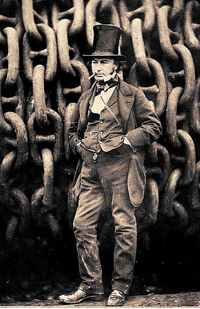 SS Great Eastern, imagem de Isambard Kingdon Brunel