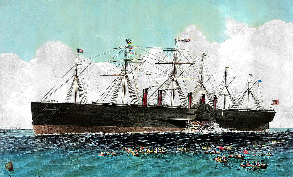 SS Great Eastern, desenho do navio SS Great Eastern