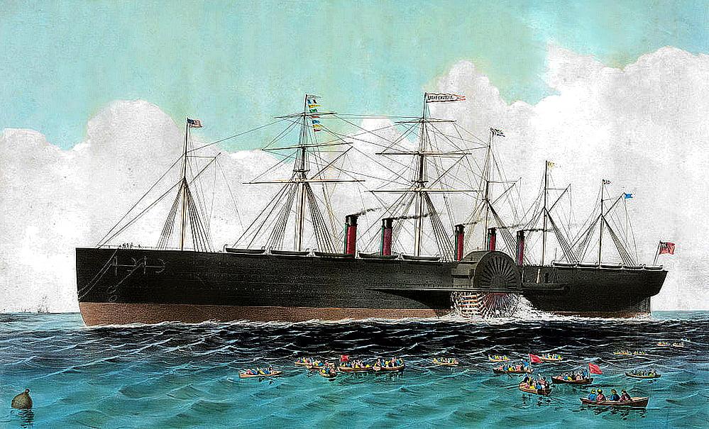 SS Great Eastern, desenho do navio SS Great Eastern